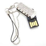 Lecteur flash USB de bijou de clé de mémoire USB de diamant