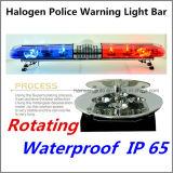 De LEIDENE van de politie Flits die van het Halogeen Lichte Staaf 1200mm IP 67 waarschuwen