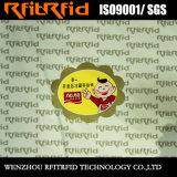 Etiquetas de papel adesivas do produto químico da impressão da etiqueta da etiqueta da venda quente