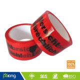 La alta calidad BOPP imprimió la cinta adhesiva del embalaje