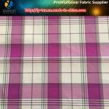 ポリエステルジャカードYarn-Dyedファブリック、ゴルフの衣服のためのスパンデックスファブリック