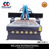 Diseño de máquina auto del ranurador del CNC del cambiador del eje de rotación para la carpintería (VCT-1325ASC3)
