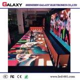 El mejor precio P6.25/P8.928 a todo color LED interactivo Dance Floor con el sensor de movimiento para la boda, acontecimientos