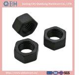 Noix Hex (Cl de DIN555 M2-M120. 6/8/10 noir)