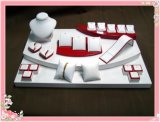 Лидирующий белый костюм индикации ювелирных изделий высокого качества