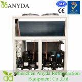 Le type air de compresseur de défilement de /15HP de 10 tonnes de refroidisseur d'eau s'est refroidi