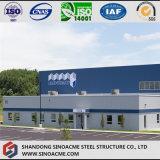Taller Pre-Dirigido de la estructura de acero para la planta