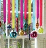 Крен тесемки оптовой цветастой поли радуги завивая