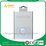 8W alle in einem im Freien LED-Solarstraßenlaternemit PIR Bewegungs-Fühler