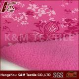 Tela impresa de Softshell con la tela micro consolidada laminada TPU del paño grueso y suave