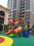 Huadong preiswertes Plastikspielplatz-Gerät 2017 für Verkauf (HD16-118A)