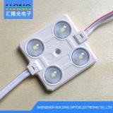 광학 렌즈, Hight 광도, 큰 각을%s 가진 LED 주입 모듈
