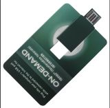 Tarjeta de papel Webkey del nuevo del diseño mini programa piloto de destello del USB
