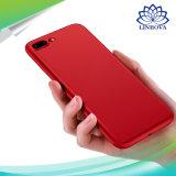 La caja de lujo del teléfono del silicio cubierta del teléfono móvil de la protección de 360 grados para SE 5s del iPhone 7 7p 6 6p 6s 5 ultra fino adelgaza la cubierta para el iPhone 7 6 6s más