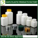 Les emballages en plastique de produits pharmaceutiques contenant de la médecine en plastique avec bouchon en plastique