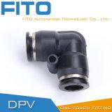 Соединение l пластичный пневматический воздух Conncetor PV касания штуцера одного Airtac Типом