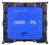 높은 광도 옥외 풀 컬러 P6 발광 다이오드 표시 모듈