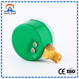 Calibre de pressão durável do caso do verde da segurança da alta qualidade