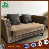 Ensemble de canapé en bois massif Ensemble de bois Chesterfield Sofa