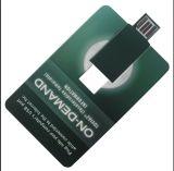 Водитель USB Webkey визитной карточки подгонянный внезапный