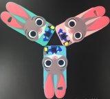 Падени-Доказательства случая кремния шаржа случая телефона кролика Джуди iPhone 7 раковина мягкого защитная