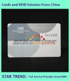 Cartões de brilho com material de PVC de fita magnética Hico 2750OE