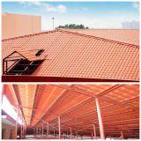 Hoja acanalada revestida del material para techos del color largo del palmo para la casa