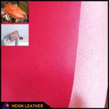 Het synthetische Zelfde van de Kleur van de Steun van het Leer Microfiber zoals Oppervlakte voor Zakken