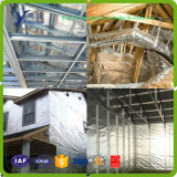 Aluminio puro y aislante tejido el PE del edificio de la tela del paño