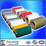 il colore 3004-H24 ha ricoperto la bobina di alluminio per il soffitto