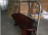 Hot Sale Stainless Steel Multi Body Shower SPA Massagem em madeira de cama SPA