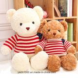 Мягкий игрушечный медведя игрушки с одеждой