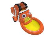 Nueva diapositiva inflable de la piscina de agua del diseño para la fiesta del cabrito