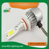 C6 LEDのヘッドライト9005オートバイ車のための9006 H7 LEDの自動ヘッドライト