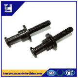 China Hardware Black Zinc Plated Screw / Bolt
