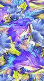 Blumen-Druck neue Elegent Dame Silk Shawl mit Digitial Drucken