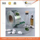 Auto-adhesivo resistente al agua Papel vinilo impreso impresión de la etiqueta engomada transparente