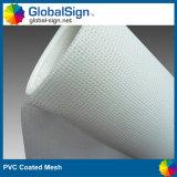 PVC 강선 (M189P)를 가진 입히는 비닐 메시 기치