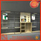 Dispositivo elétrico de madeira das cremalheiras de indicador da loja de sapata