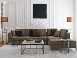Sofá de sala de estar com sala de estar combinada