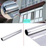 Pellicola di vetro di costruzione tinta argento della finestra di rifiuto di calore