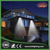 6W Ce, luz solar ao ar livre da parede do diodo emissor de luz da instalação fácil do certificado de RoHS
