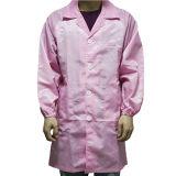 Vestiti da lavoro industriali degli indumenti del grembiule ESD del locale senza polvere