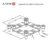 a-één de Zelf CentreerPlaat Van uitstekende kwaliteit G Inox 3A-400001