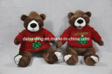 Orso molle dell'orsacchiotto della peluche con il maglione