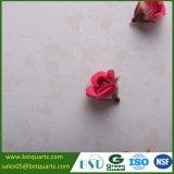 Искусственный свет - розовая верхняя часть тщеты камня кварца для ванной комнаты