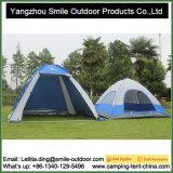 Privacidade ao ar livre do armazenamento produção viva de acampamento da barraca de 2 quartos