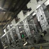 Stampatrice di rotocalco di colore del motore 8 del sistema 7 dell'arco per BOPP, il PVC, l'animale domestico, ecc in 150m/Min
