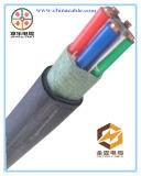Резиновый гибкий кабель, кабель Cu электрический для напольной пользы