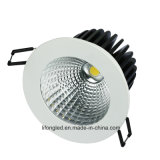 Ce SAA TUV Incendie 12W Dimmable LED Downlight